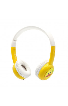 BAMINI STUDY WIRED HEADPHONES - YELLOW