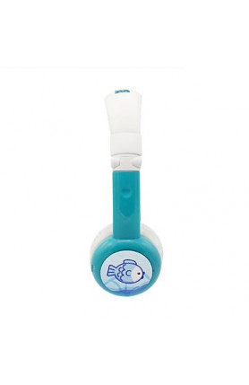 BAMINI HEALTHY WIRED HEADPHONES - BLUE