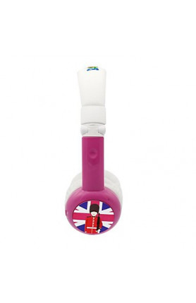 BAMINI HEALTHY WIRED HEADPHONES - PINK