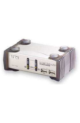 ATEN 2 PORT PS/2 -USB VGA/AUDIO KVMP CS173A 3