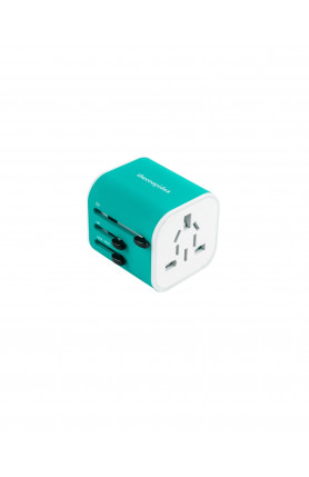 THECOOPIDEA CUBIC UNIVERSAL TRAVEL ADAPTER BLUE