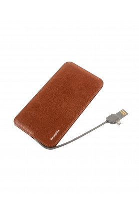 THECOOPIDEA SLIM 4000MAH POWERBANK BUILT-IN MICRO CONNE..