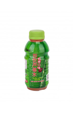 RED DATES ALOE VERA DRINKS (285ML x 6 BTLS)