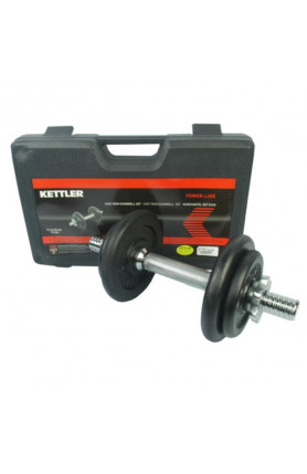 KETTLER CAST IRON DUMBBELL 10 KG