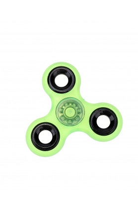 TRIANGLE FIDGET SPINNER GREEN