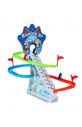 PENGUIN RACE TRACK GAME