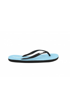 FIPPER SLIM SLIPPERS IN BLUE (SKY) BLACK