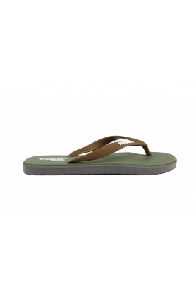 FIPPER WIDE IN ARMY GREEN/BROWN