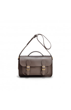 AVERY COFFEE BROWN SATCHEL BAG