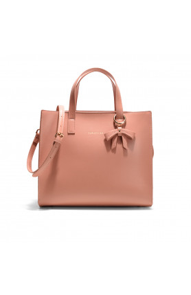 DALLAS DUSTY ROSE  TOP HANDLE TOTE