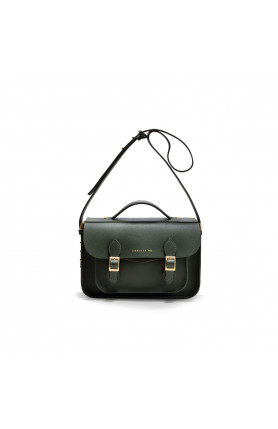 AVERY MINI OLIVE GREEN SATCHEL BAG