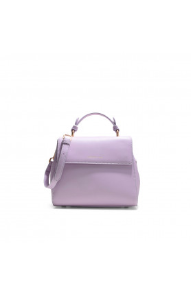 JAY MINI PURPLE IRIS HANDBAG