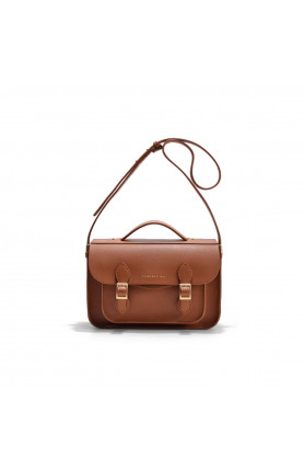 AVERY MINI CARAMEL SATCHEL BAG