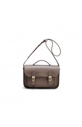 AVERY MINI COFFEE BROWN SATCHEL BAG