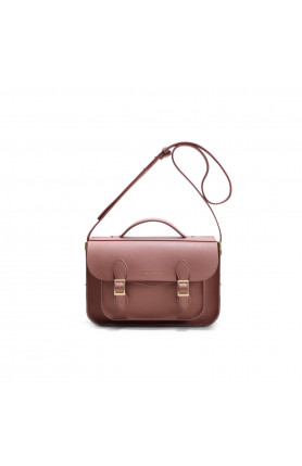 AVERY MINI DUSTY ROSE SATCHEL BAG
