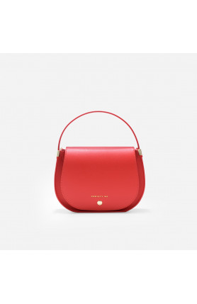 ALIS Lady In Red Saddle Bag