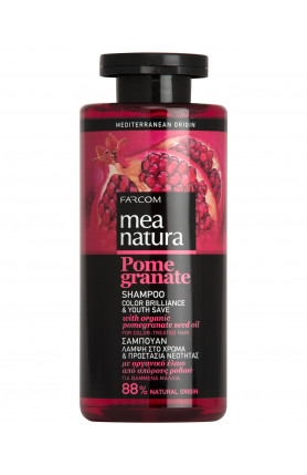 MEA NATURA POMEGRANATE COLOR HAIR SHAMPOO 300ML