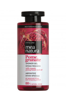 MEA NATURA POMEGRANATE SHOWER GEL 300ML