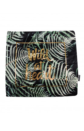 QUOTES PILLOW CASE - WILD AT HEART