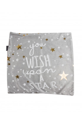 QUOTES PILLOW CASE - WISH UPON