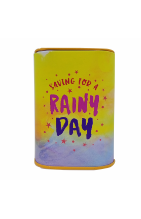 COIN BANK- SAVING FOR RAINY DAY