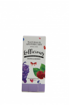 NATURALIS APOTHECARY FRAGRANCE OIL 30ML - VARIOUS SCENT..