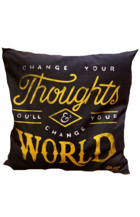S&J DESIGN PILLOW CASE - START EACH DAY WITH A GRATEFUL..