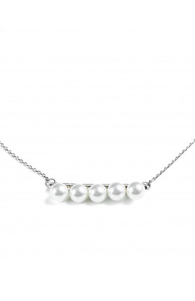 Line of Pearls Necklace