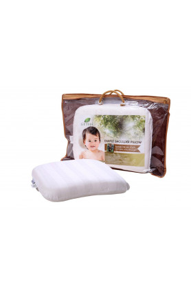 BABY DIMPLE SHOULDER LATEX PILLOW