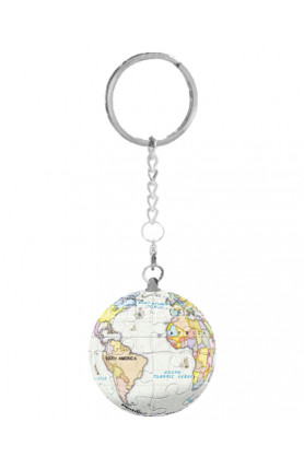 KEYCHAIN - PURPLE GLOBE