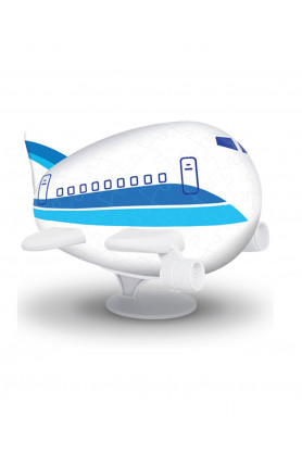 AIRPLANE PUZZLE - SKY BLUE AIRLINE