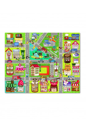 JUNIOR 80PCS PUZZLE - CUTE STREET MAP