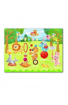 JUNIOR 48PCS PUZZLE - CIRCUS IN THE FOREST