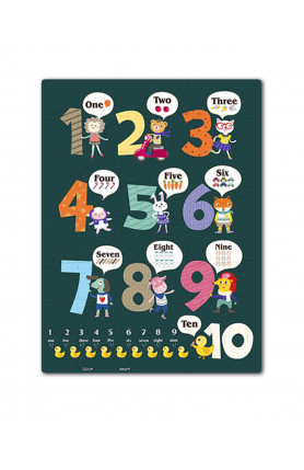 JUNIOR 48PCS PUZZLE - LEARNING TO COUNT