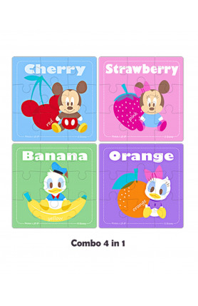 JUNIOR 36PCS PUZZLE - DISNEY (MICKEY & FRIENDS)