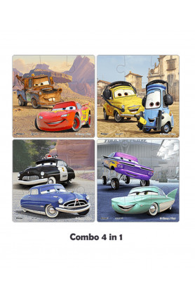 JUNIOR 36PCS PUZZLE - DISNEY (CARS)