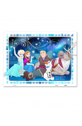 JUNIOR 48PCS PUZZLE - DISNEY FROZEN