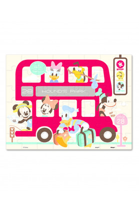 JUNIOR 48PCS PUZZLE - DISNEY MICKEY & FRIENDS