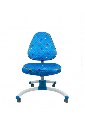 KIDSMASTER CHAIR (CHAIR COVER) BLUE PYRAMID