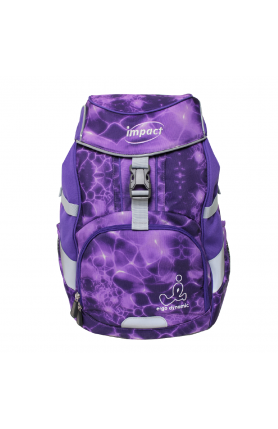 IMPACT SPINAL PROTECTION BACKPACK - PURPLE