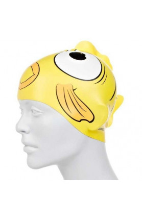 SPEEDO SEA SQUAD CHARACTER CAP FISH YELLOW