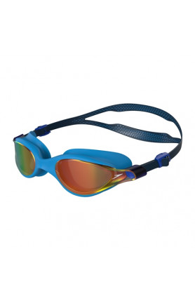SPEEDO V-CLASS VUE MIRROR ASIA FIT GOGGLES - NAVY/POOL/..