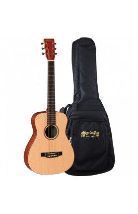 MARTIN SEMI ACOUSTIC GUITAR - LX1E LITTLE MARTIN/ FISHM..