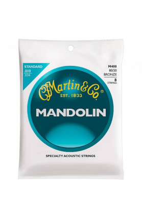 MARTIN M400 MARTIN MANDOLIN STRINGS 80/20 BRONZE