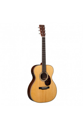 MARTIN SEMI ACOUSTIC GUITAR OM-28E RETRO ,FISHMAN F1 AU..