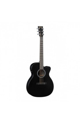 MARTIN SEMI ACOUSTIC GUITAR OMCPA5 BLACK /FISHMAN F1 AN..