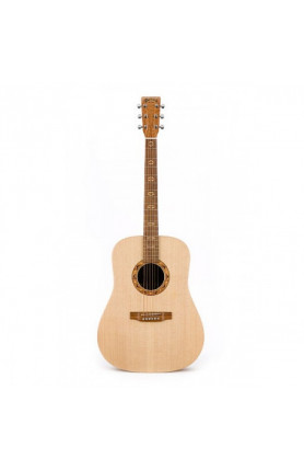 MARTIN DX1 TAWNY SATINWOOD ACOUSTIC GUITAR, X-SERIES WI..