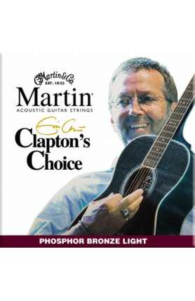 MARTIN MEC12 ERIC CLAPTON ACOUSTIC GUITAR STRINGS  PHOS..