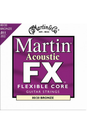 MARTIN MFX675 FX ACOUSTIC GUITAR STRINGS FLEXIBLE CORE ..