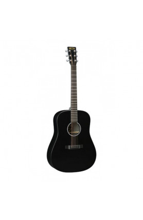 MARTIN SEMI ACOUSTIC GUITAR DXAE BLACK FISHMAN SONITONE..